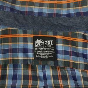 Taco Bell Shirts - Taco Bell Short Sleeve Shirt 2XL